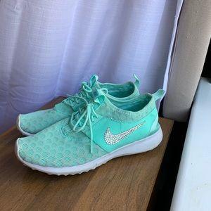 Custom Nike sneakers rhinestone